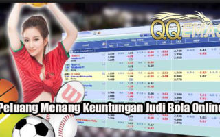 Peluang Menang Keuntungan Judi Bola Online